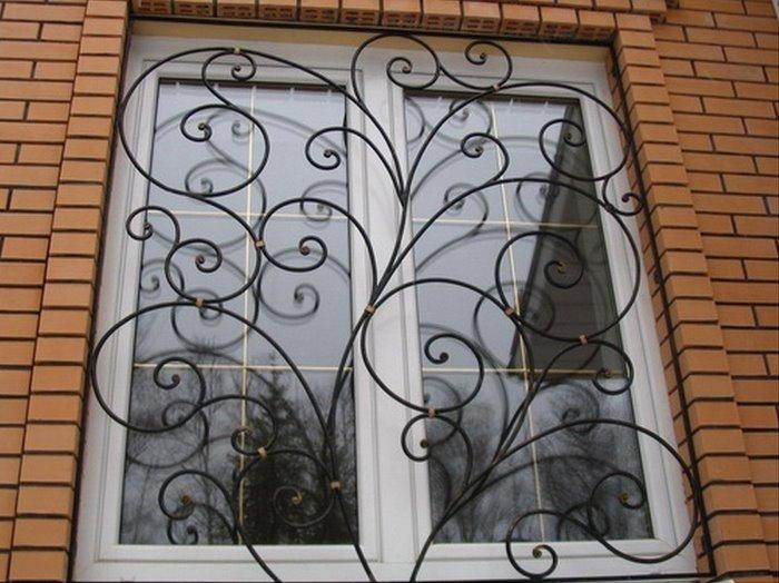 Фото решеток на окна своими руками 477