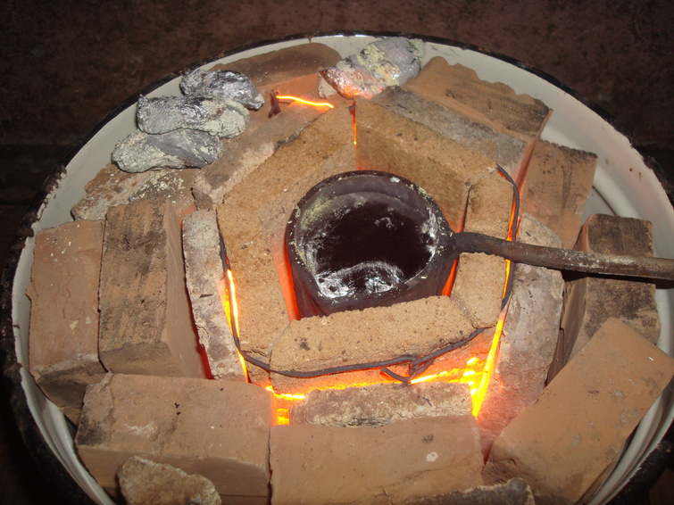 муфельная печь своими руками для плавки