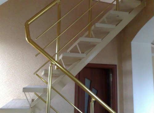 Как сделать перила для лестницы своими руками из металла фото 680
