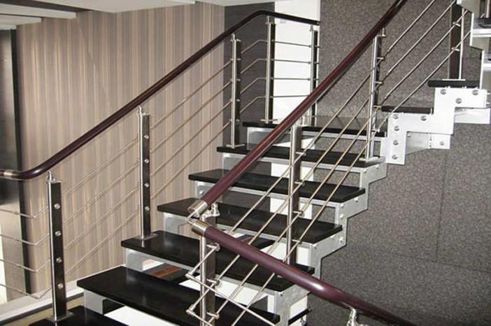 Как сделать перила для лестницы своими руками из металла фото 171