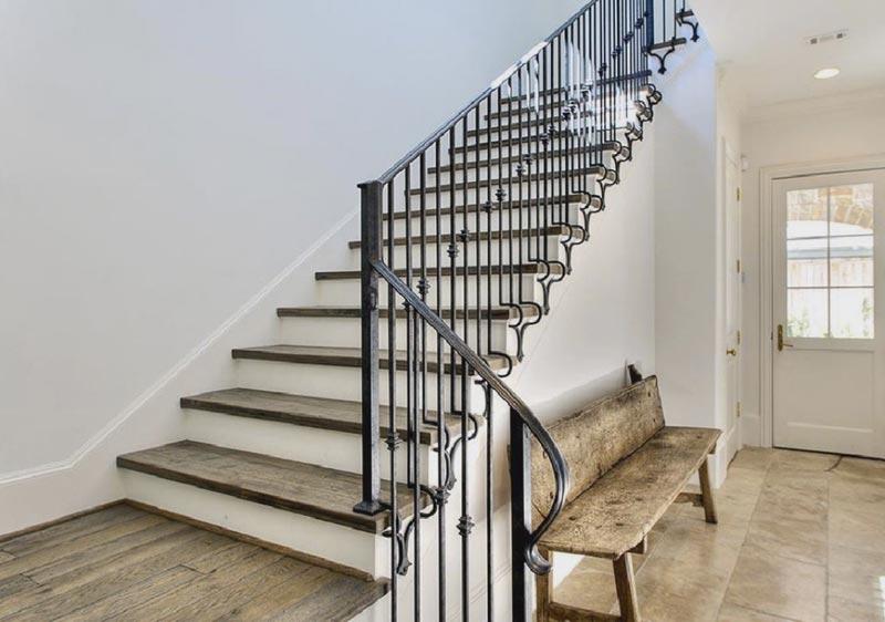 Как сделать перила для лестницы своими руками из металла фото 594