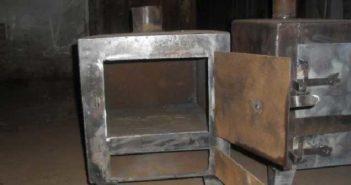 Как сделать печь для гаража из металла своими руками: чертежи и рекомендации