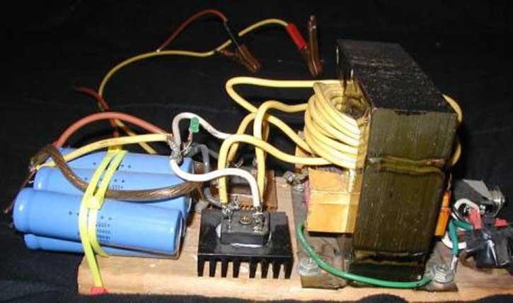 Споттер из микроволновки своими руками и схема как сделать.