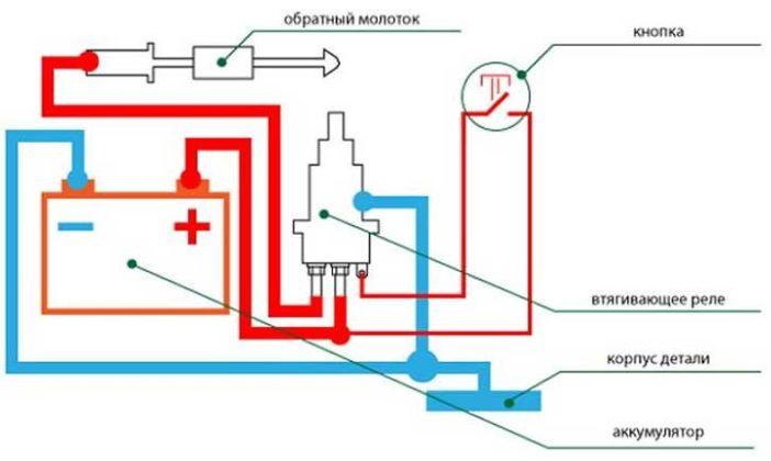 Трансформатор для споттера